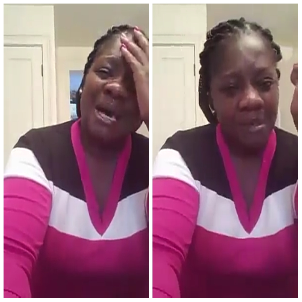 Married Woman Cries Uncontrollably After Being Dumped By Her Lover