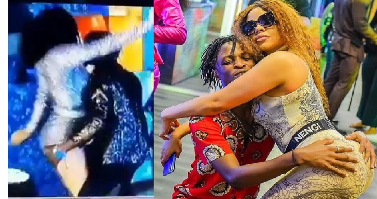 After Nengi Pushed Ozo Away, See What She Was Spotted Doing With Laycon At The Party - GH Gossip