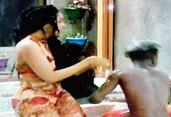 Nengi and Laycon, BBNaija: Watch what Nengi was doing in the Jacuzzi with Laycon just after Ozo's eviction, Premium News24