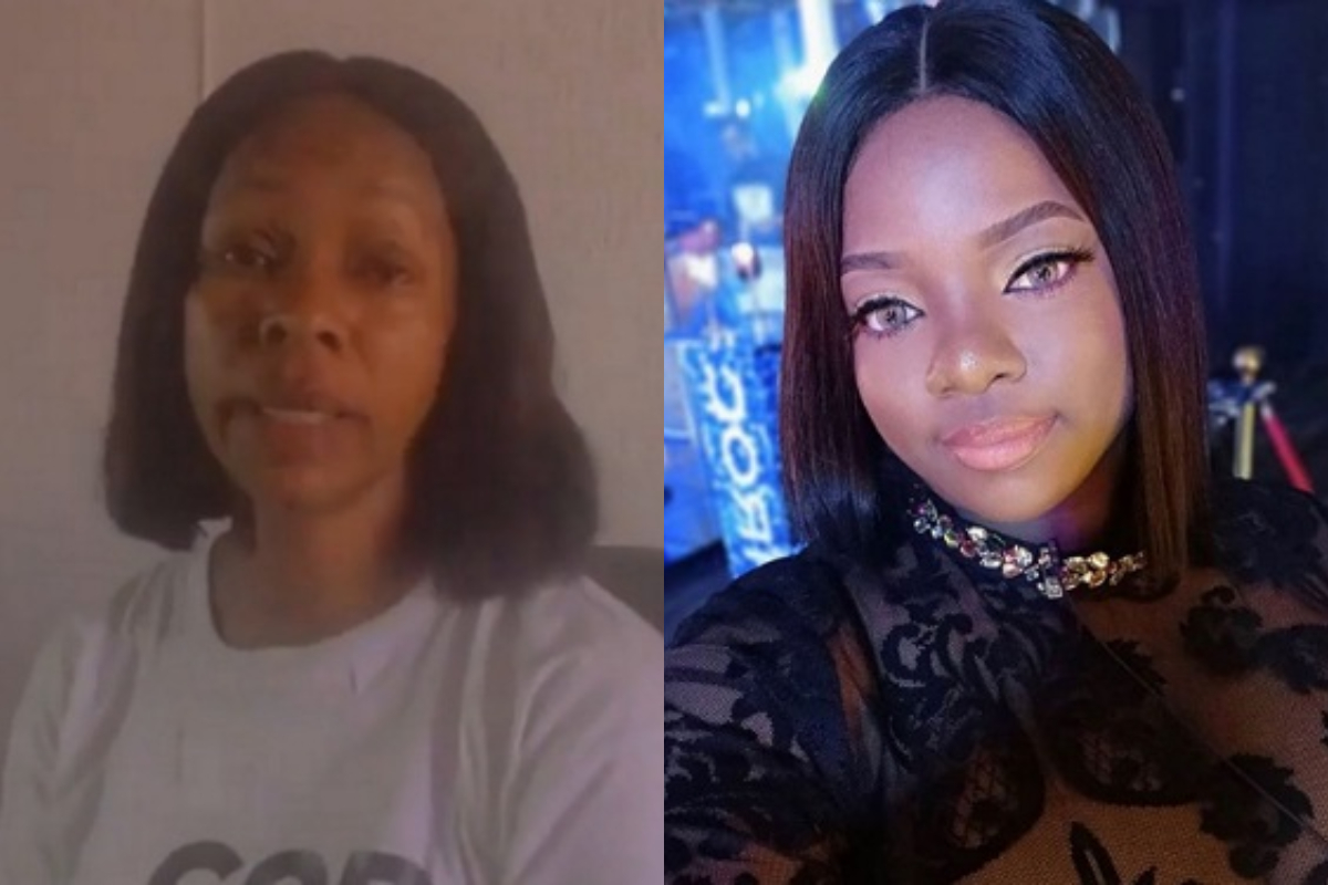 BBNaija 2020: Viral Video Of Dorathy's Mother Thanking Fans For Keeping Her In The Lockdown House