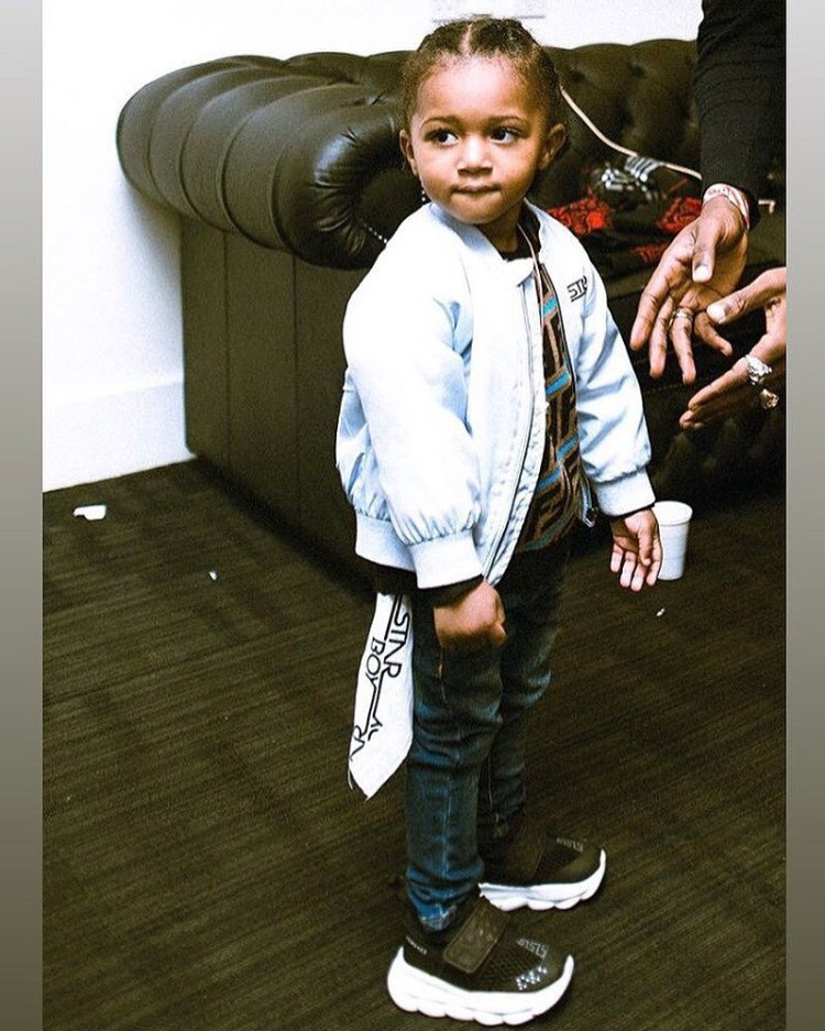 Meet Wizkid's 3 Adorable Kids- Bolu, Zion And Ayodeji- Photos