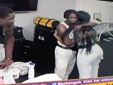 BBNaija 2020: Laycon consoles Nengi after she was ignored by Ozo (Video)