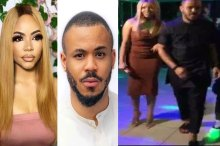 BBnaija 2020: Ozo keeping distance from Nengi at Brighto's birthday bash (Photos)