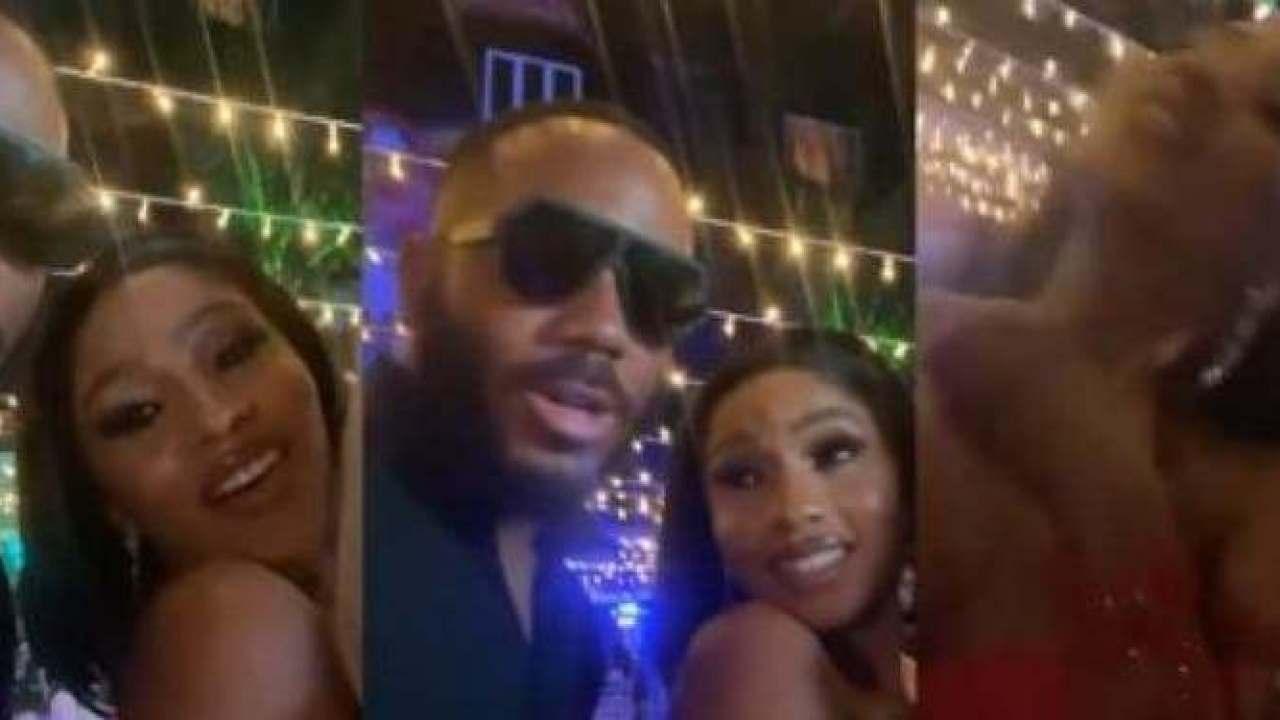'Choke Me' - Mercy Eke Tells Kiddwaya As Erica Laughs Hard (VIDEO) - GH Gossip