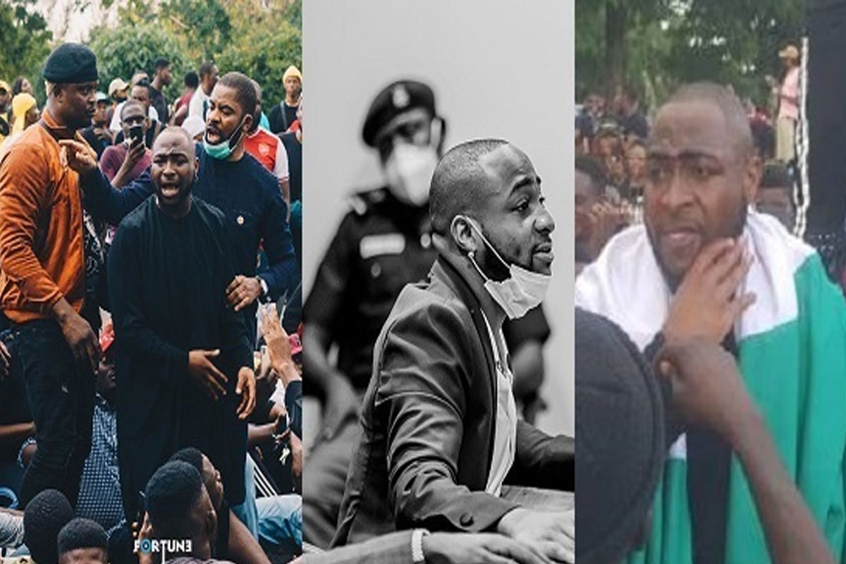 1 Month After Lekki Toll Gate Shooting Incident, SEE What Davido Said That Got Fans Talking