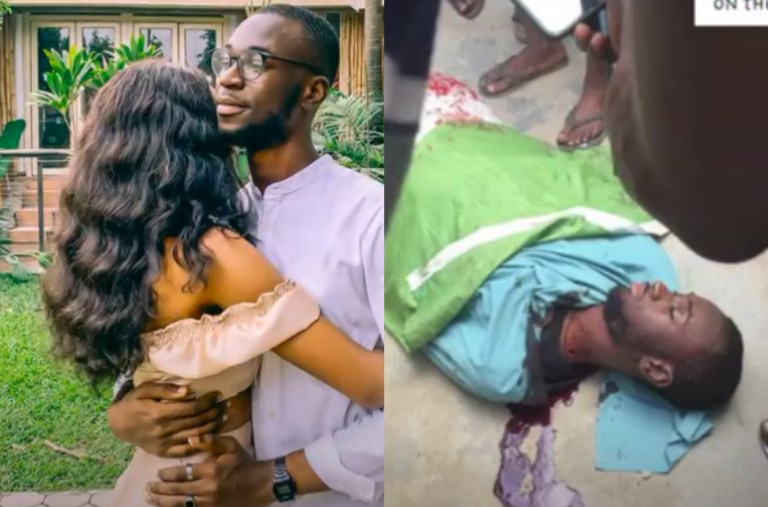 Nigerian Lady Reveals Her Boyfriend Was Gunned Down By Thugs During The #ENDSARS Protest