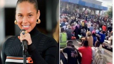 Lekki Toll Gate Killings: 'Don't Give Up'- Alicia Keys Urges #EndSARS Protesters