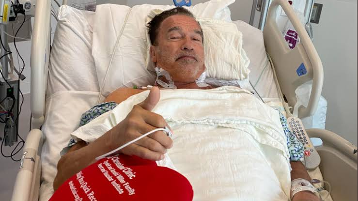 Arnold Schwarzenegger says he feels 'fantastic' after undergoing heart surgery