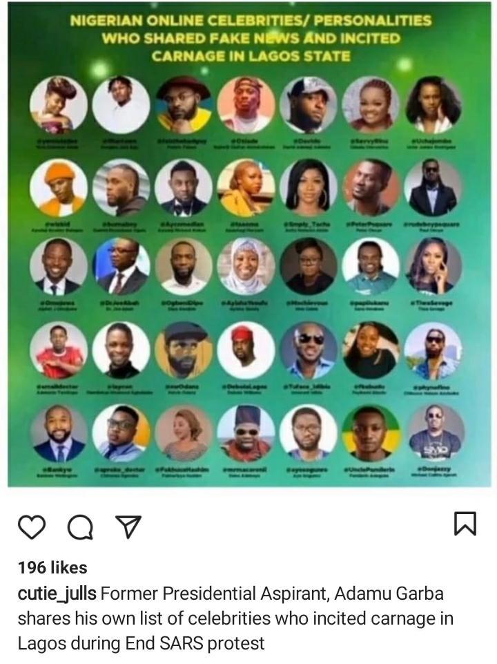 More lying Nigerian Celebrities