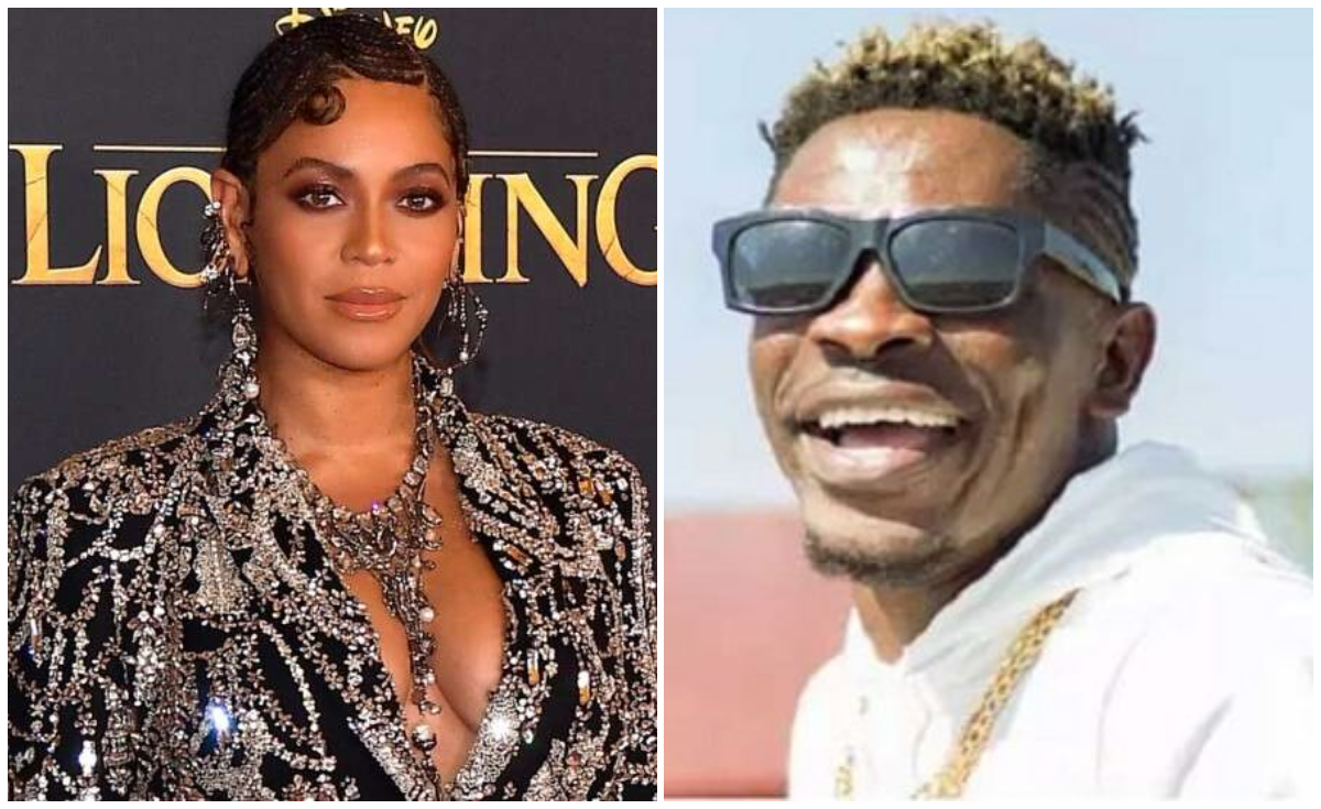 """People Are Jealous Because I Hugged Beyonce And I Now Have Her Scent All Over Me"" - Shatta Wale"