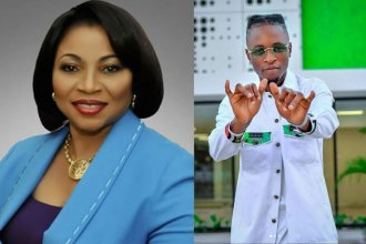 Billionaire, Folorunso Alakija reacts to reports that she attended Laycon's 27th birthday bash