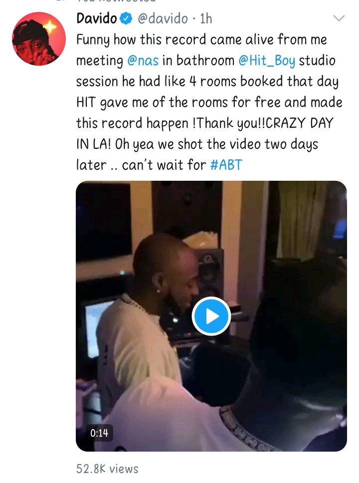 "Davido replies Burna Boy HOURS after allegedly calling him ""Floppy Disk"""