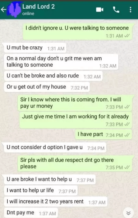 Sleep With Me And My Two Sons' – See What This Landlord Asked A Lady To Do Because She Couldn't Pay Her House Rent