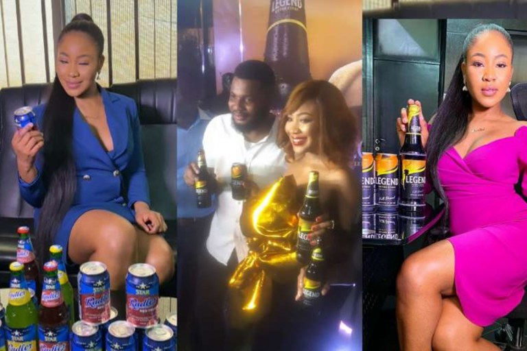 Erica Earned 500 Million Naira From The 'Legend Extra Stout And Red Radler' Ambassadorial Deal