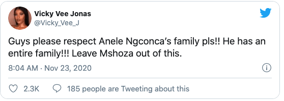 Twitter Users Demand Respect For Anele Ngcongca S Widow And Stop Linking His Death With Mshoza