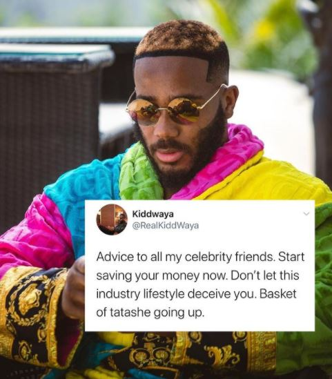"Save Your Money, Don't Be Deceived By The Fake Life"" – Kiddwaya Advises His Celebrity Friends"