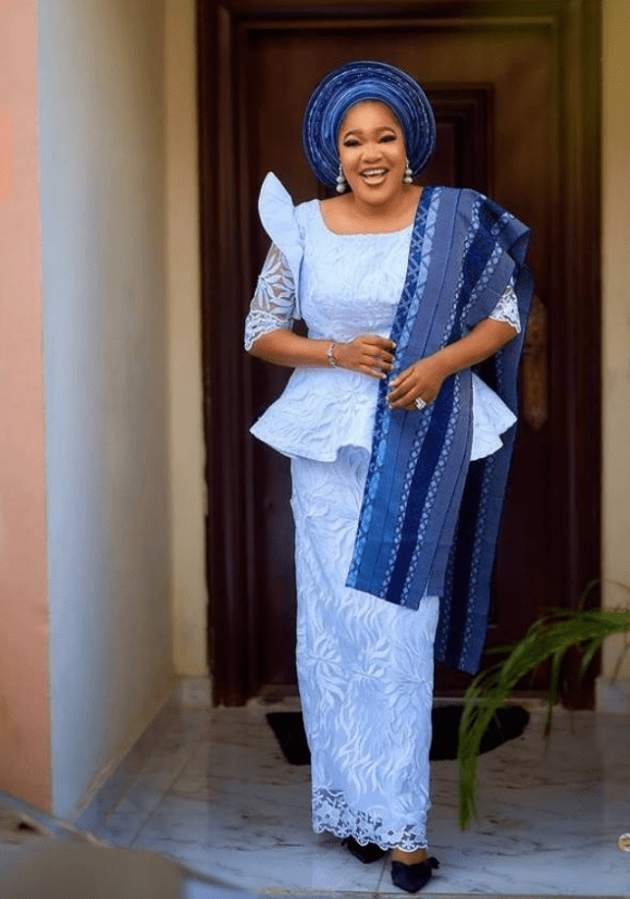 """You Nailed It"" – Ini Edo, Funmi Awelewa And Others React To Toyin Abraham's Outfit To Iyabo Ojo's Mother's Funeral Home"