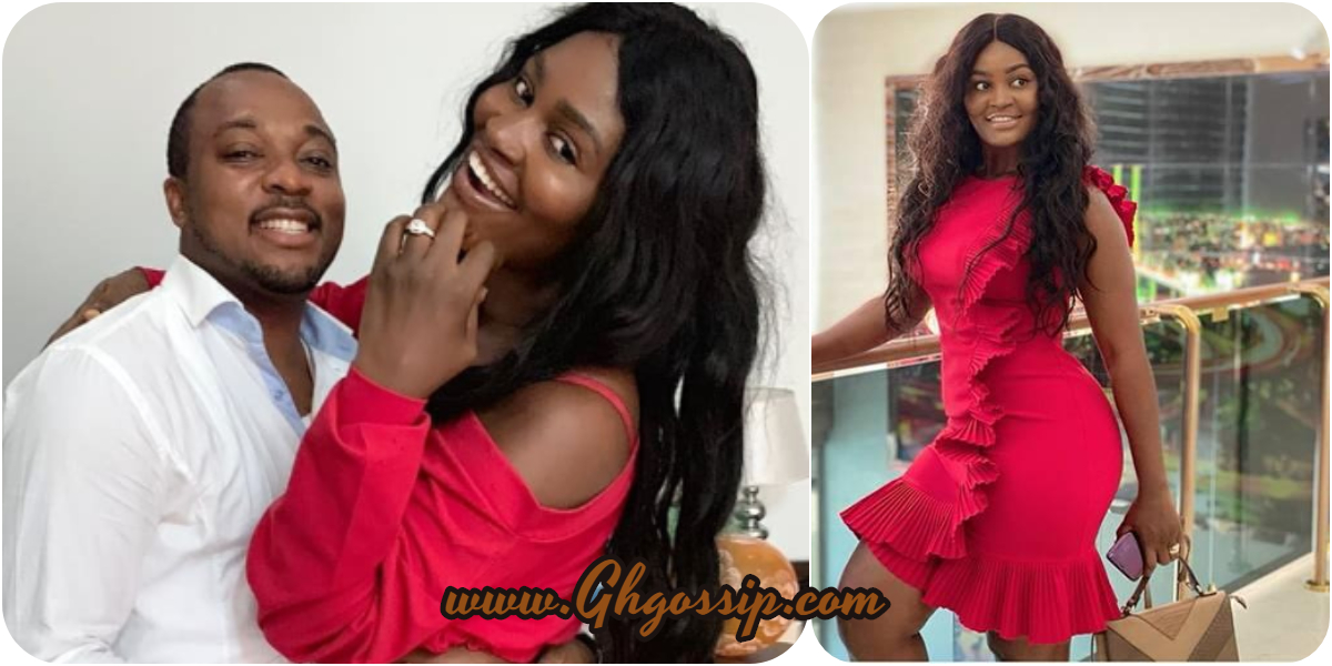 Actress Chizzy Alichi Flaunts Her Killer Curves In Wine Dress- Photos