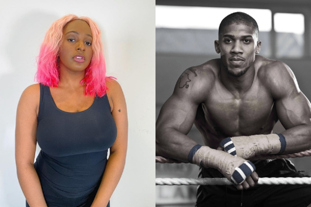Wahala For Who Isn't In Love With Anthony Joshua – DJ Cuppy Tells How Much She Admires Him(Video)