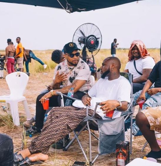 Laycon Was Present At Davido's 'Jowo', Why Laycon Was Present At Davido's 'Jowo' Video Shoot But Failed To Make An Appearance (Photos), Premium News24