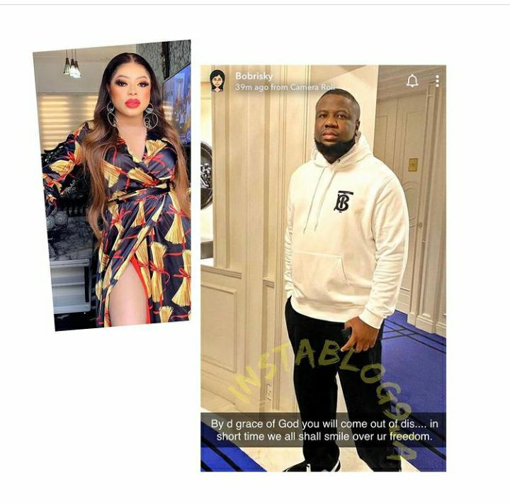 We Shall Smile Over Your Freedom -Bobrisky The Prophetess Leads Nigerians In Prayers For Hushpuppi