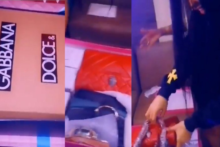 Watch as Nengi and Ozo open their Christmas gifts from fans (Video)