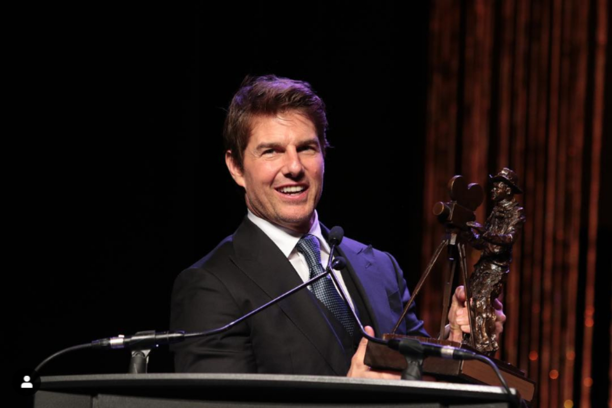 Tom Cruise Brings in the Bots for COVID Safety