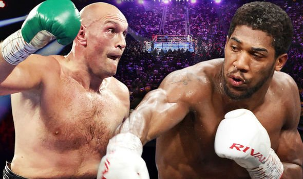 Fury and Joshua expected to earn USA $100 million each