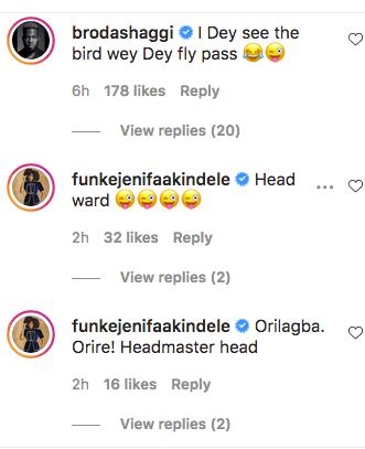 'Headmaster Head' - Funke Akindele, Broda Shaggi, Vee And Others React As Falz Shares Fresh Bald Photos