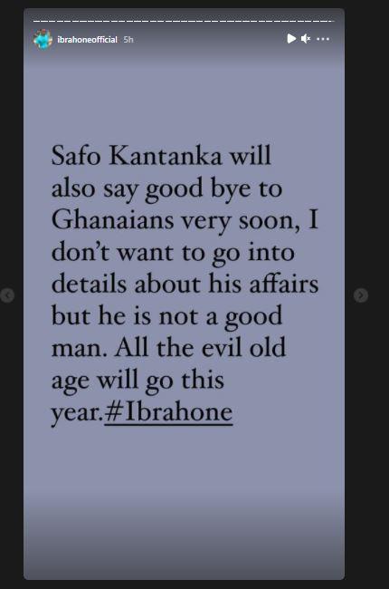 Sarfo Kantanka Will Say Good Bye To Ghanaians Very Soon