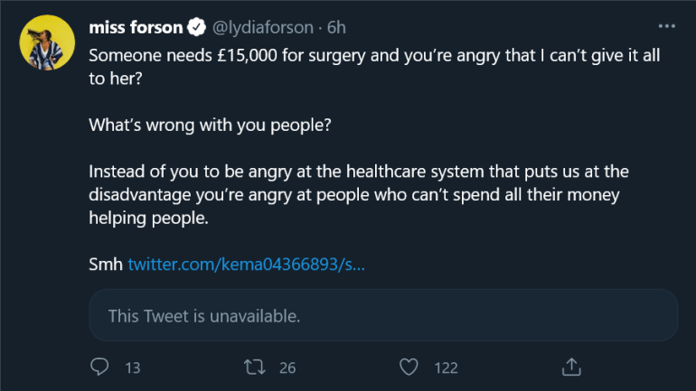 Twitter User Sends 'Abu.sive' Tweet To Lydia Forson For Posting About Someone Who Needs Help