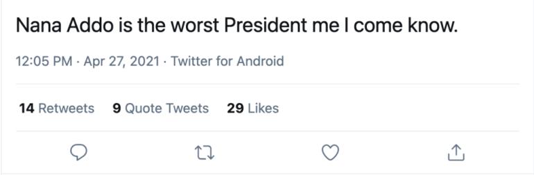 'Nana Addo Is The Worst President'