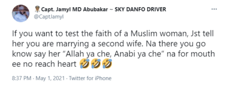 Aliko Dangote's Son-In-Law, Jamil Abubakar Speaks About What A Man Can Do To Test A Muslim Lady's Faith