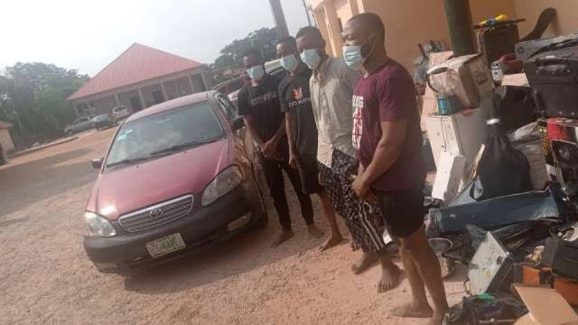 6 Suspected Armed Robbers Arrested By FCT Police, Exhibits Recovered
