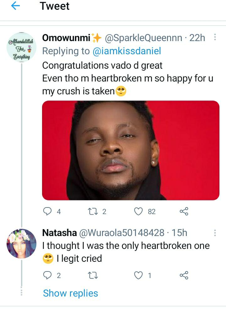 Kizz Daniel Breaks The Heart Of His Crushers With The Arrival Of His Twins
