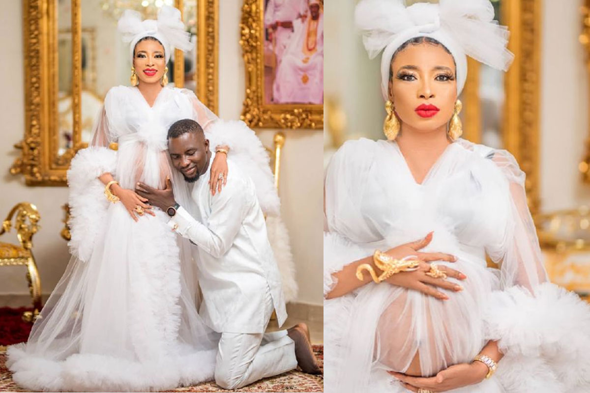 Lizzy Anjorin Reacts To Her Husband's Push Gift