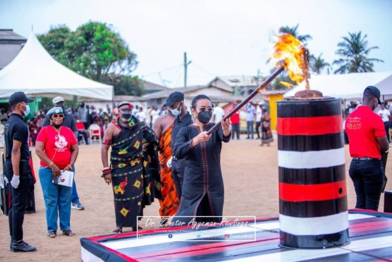 Zanetor Rawlings Holds Father's Legacy As She Shares Highlights Of June 4 Anniversary