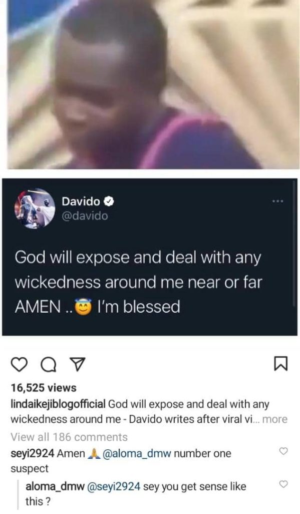 Aloma DMW Reacts After A Troll Named Him As Number 1 Suspect To Poison Davido
