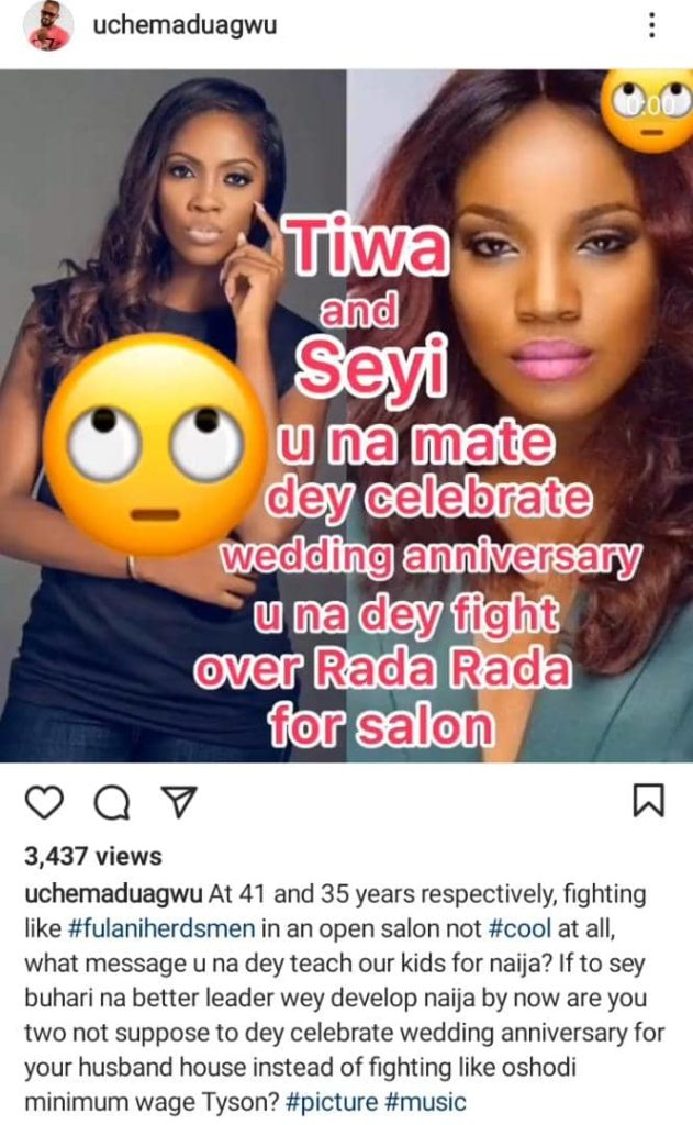 Your Mates Are Celebrating Wedding Anniversary And You're Fighting