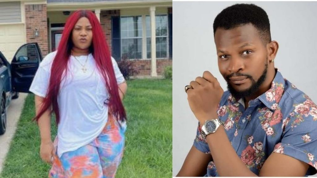 """Actor, Uche Maduagwu - """"I would rather leave Nigeria than allow Nkechi Blessing kiss me on any movie set""""    PEAKVIBEZ"""