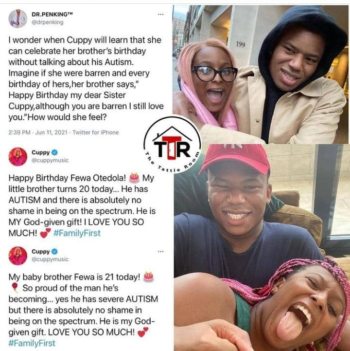 Medical Doctor Drags Cuppy For Adding Insult To Her Brother Fewa's Injury