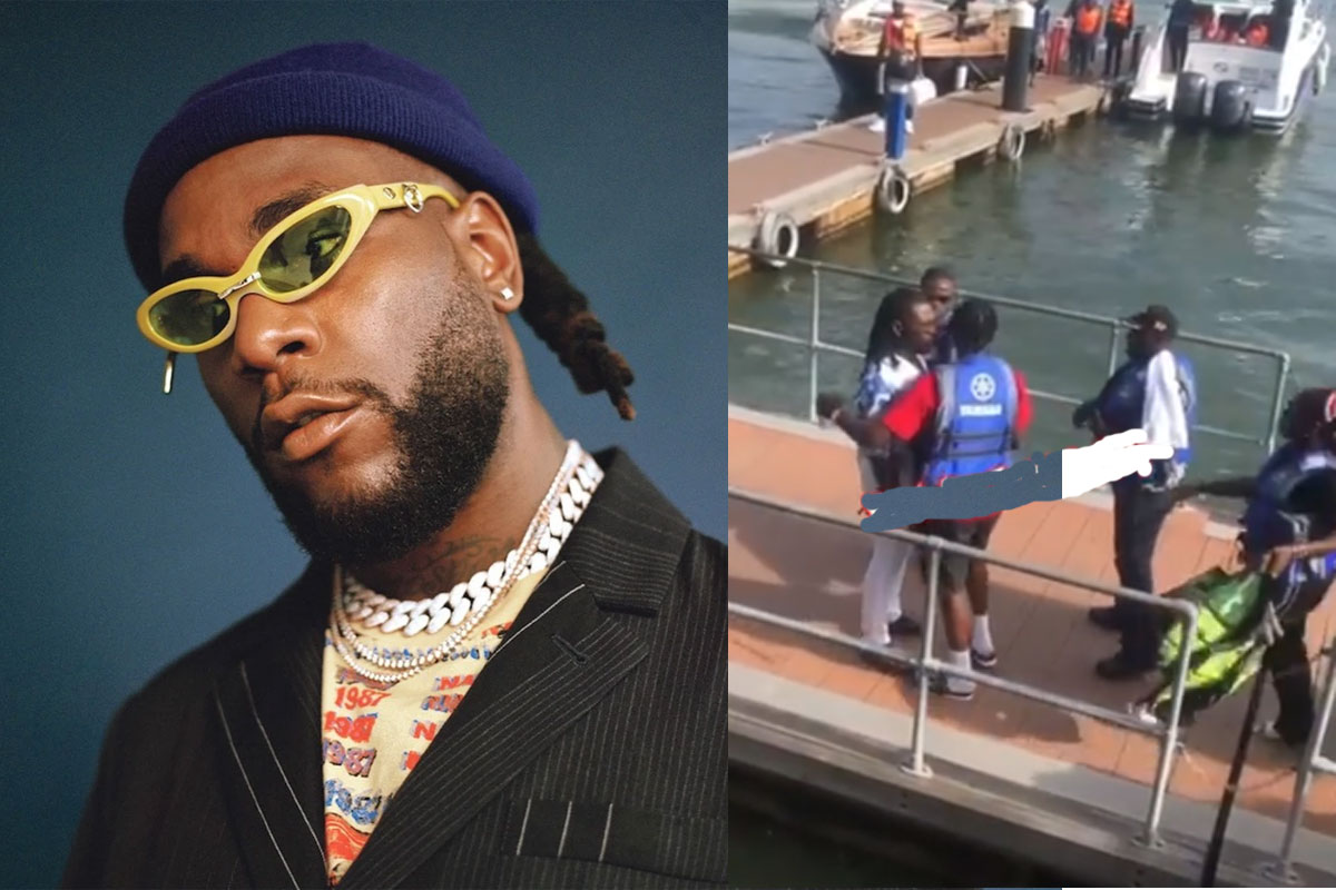 He Is Full Of Pride'- Reactions After Burna Boy Was Stopped From Fighting  Lagos Boys Before A Video Shoot