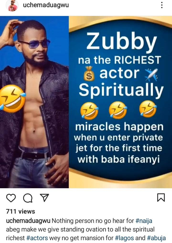 He's The Richest Actor Spiritually