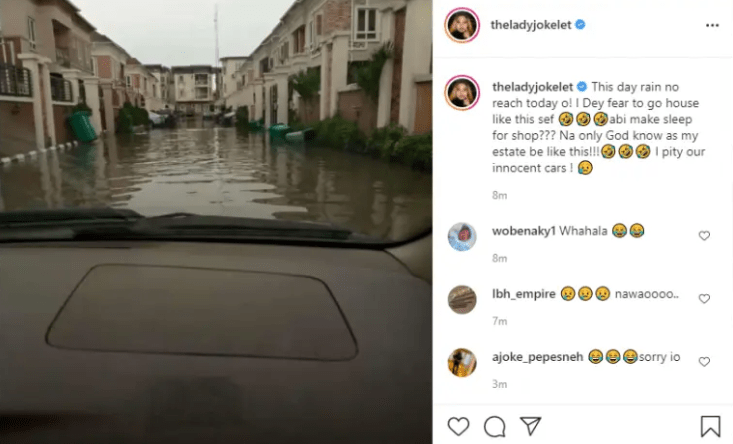 'I Am Scared To Go Home' – Actress, Joke Jigan Cries Out