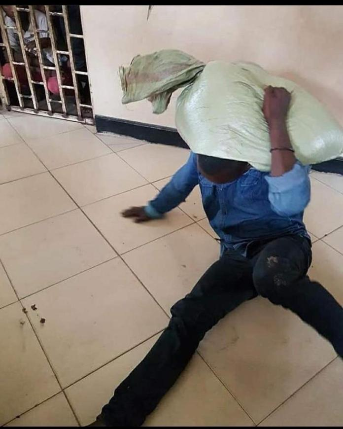 Thief Reports Himself To The Police After He Couldn't Bring Down A Bag Of Maize He Stole [PHOTOS]