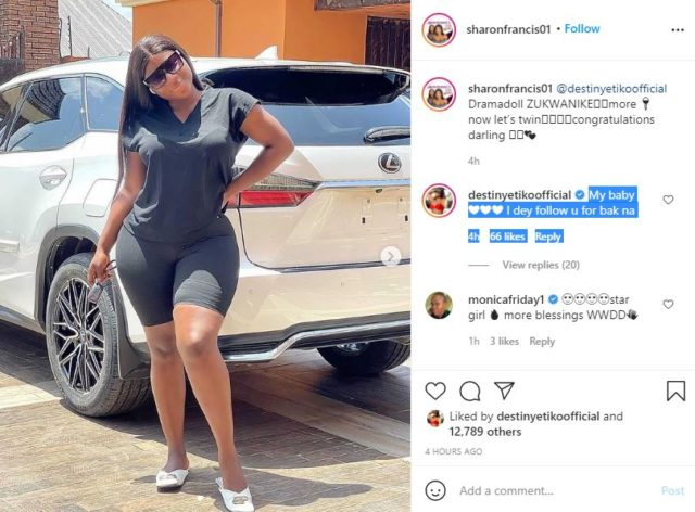 Actress, Destiny Etiko Adds A New Luxurious Ride To Her Collection