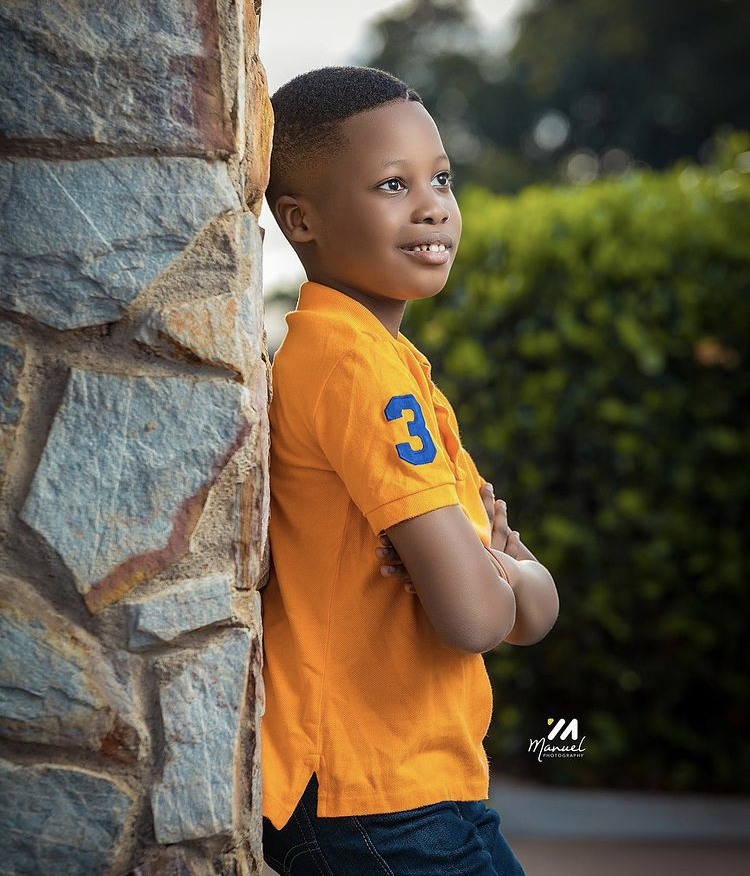 Andy Dosty Shares Photos Of His Son For The First to Mark His Birthday (See)