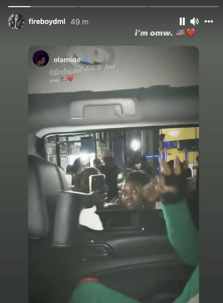 Fans Go Agog As They Sight Fireboy DML