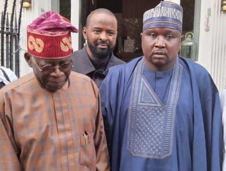Northern Lawmakers Pay Bola Tinubu A Visit In London (PHOTOS)