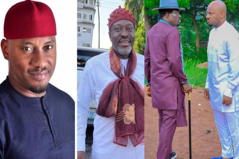 Yul Edochie Tenders An Apology To Kanayo O Kanayo After Sparking A Brawl In A Recent Event